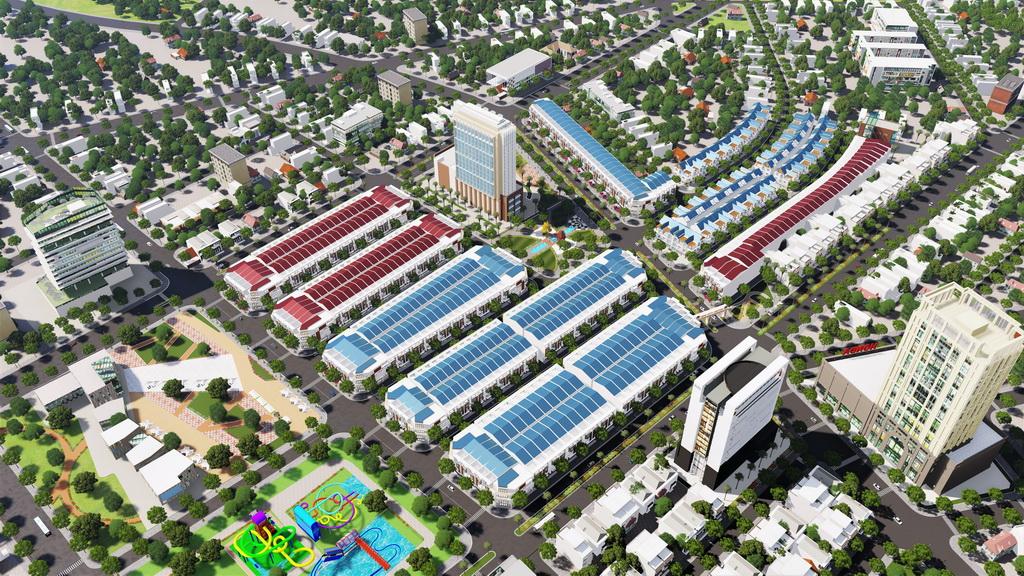 KDC ĐÔNG BÀN THÀNH - PK NEW CITY CENTER