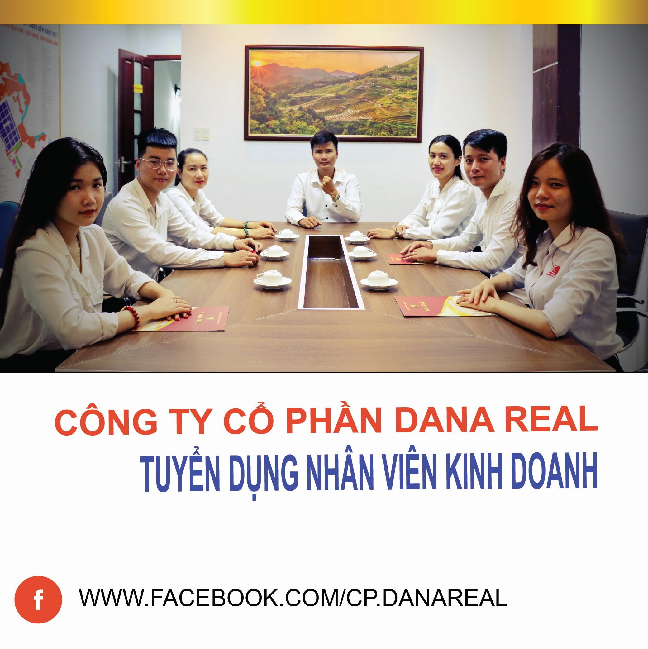 DANA REAL - TUYỂN DỤNG NHÂN VIÊN KINH DOANH BĐS THÁNG 11/2019